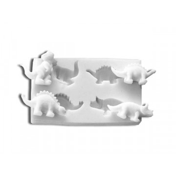 Molde silicona Dinosaurios SLK