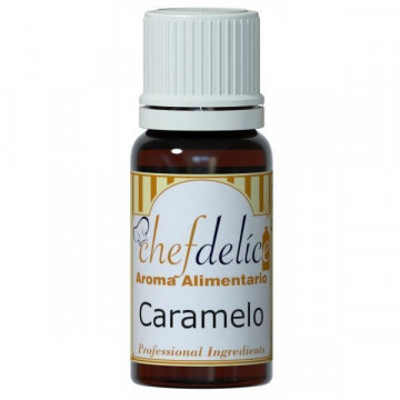 Aroma concentrado Caramelo 10 ml Chefdelice