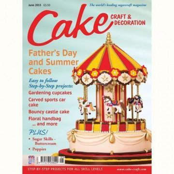 Revista Cake Craft & Decoration Edición Junio 2013