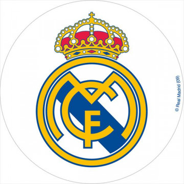 Oblea comestible Real Madrid