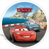 Oblea comestible Cars 2 Costa