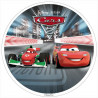 Oblea comestible Cars 2 Carrera