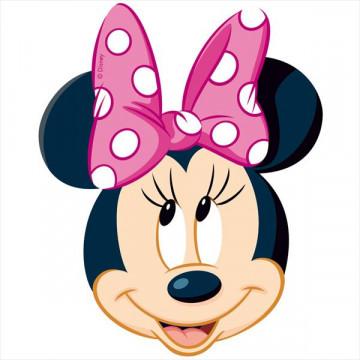 Oblea comestible Silueta Minnie 2