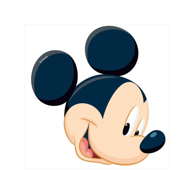 Oblea comestible Silueta Mickey Mouse 1
