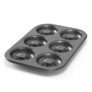 Molde 6 cavidades Donuts Nordic Ware