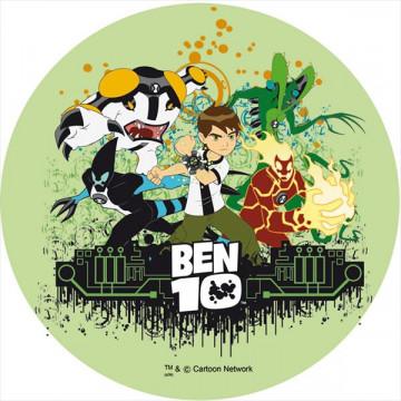 Oblea comestible Ben 10 1