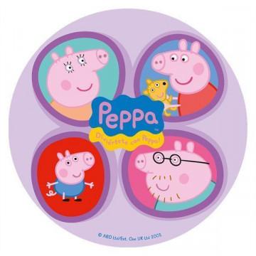 Oblea comestible Peppa Pig 1