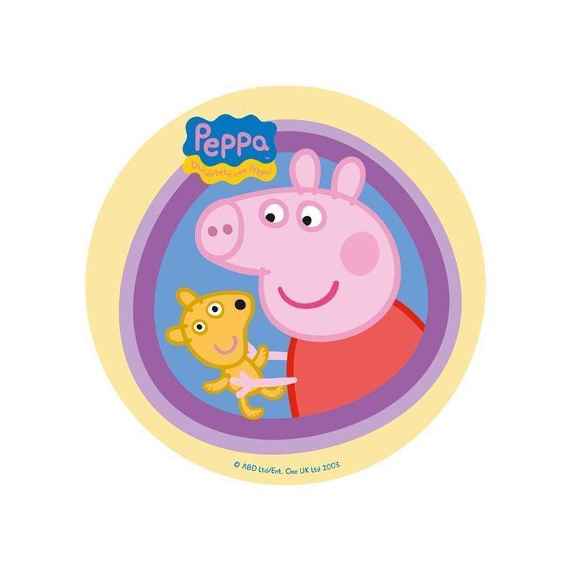 Oblea comestible Peppa Pig 2