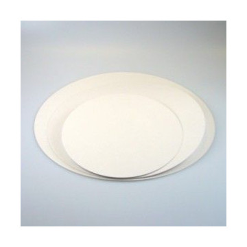 Plato base redondo blanco 26 cm