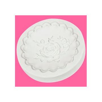 Molde silicona Cupcake Cookie Victorian Garden 1 Katie Sue Designs