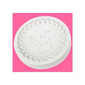 Molde silicona Cupcake Cookie Victorian Garden 2 Katie Sue Designs