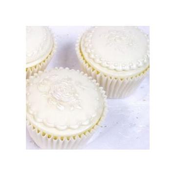 Molde silicona Cupcake Cookie Victorian Garden 2 Katy Sue Designs