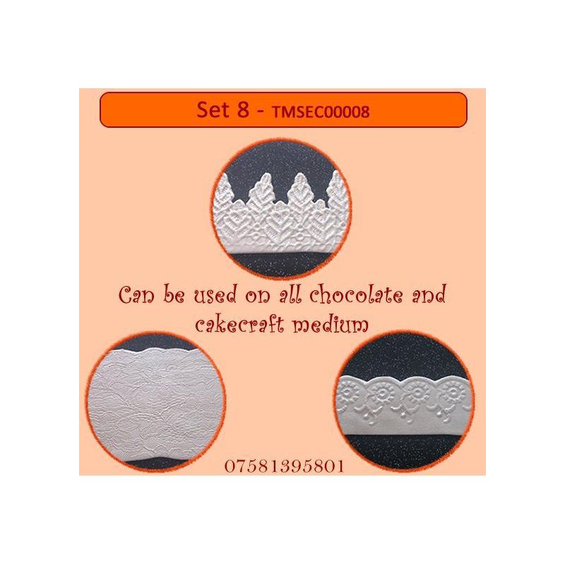 Plantilla texturizadora pack 4: Set 8