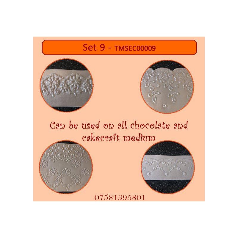 Plantilla texturizadora pack 4: Set 9