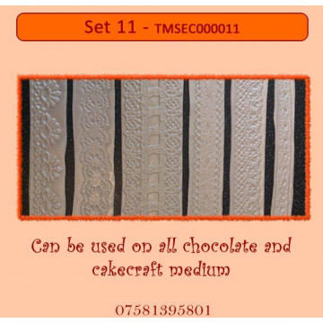 Plantilla texturizadora pack 4: Set 11
