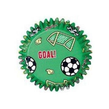 Cápsulas cupcakes futbol