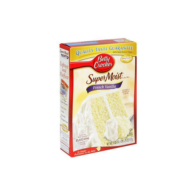 Mix de bizcocho French Vanilla Betty Croker