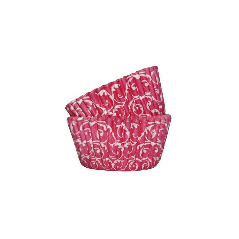 Capsulas cupcakes Barroco Fuxia SK