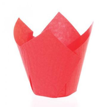 Capsulas Muffins Rojo SK