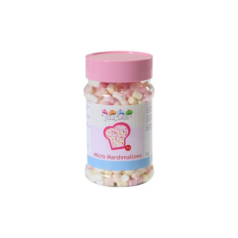 Micro Mashmallows 50g Funcakes