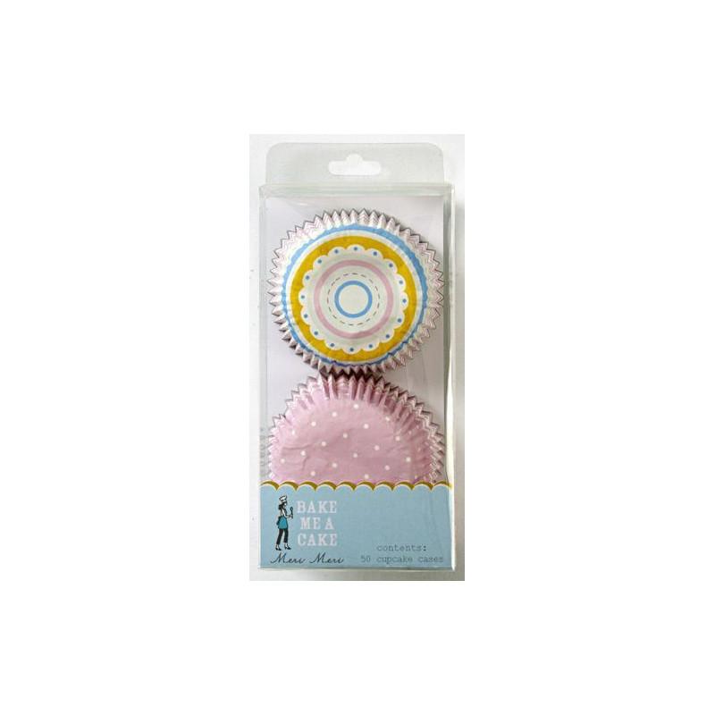 Capsulas cupcakes colección Pink Stripe Meri Meri