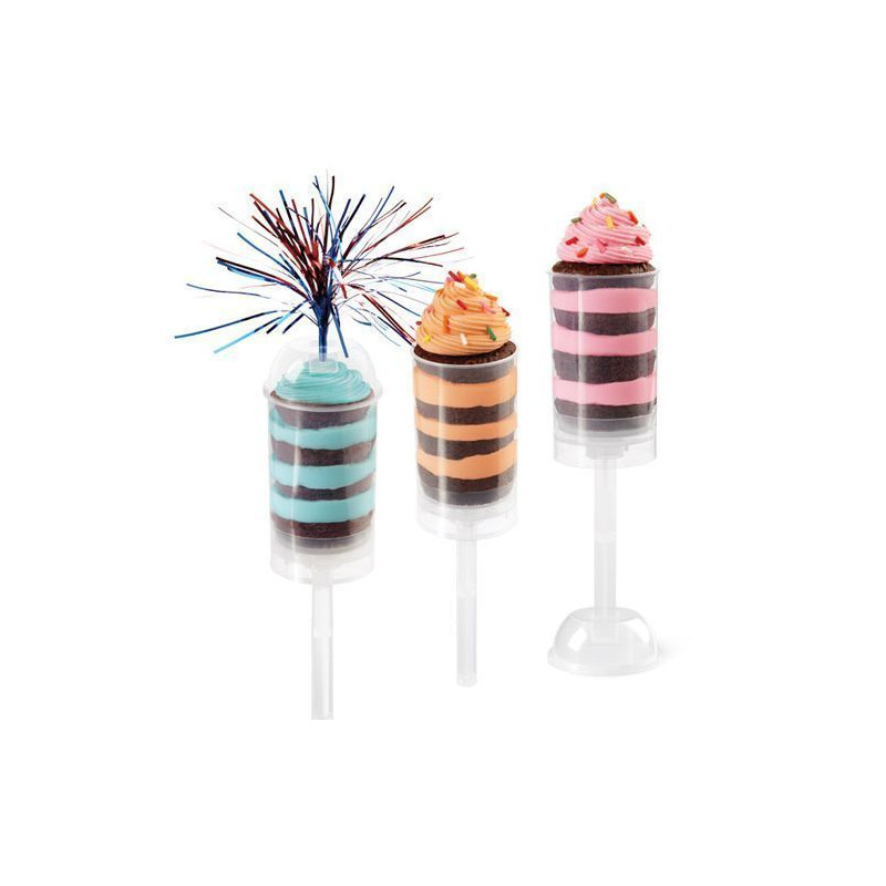 Push up cake pops 6 unidades Wilton