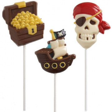 Molde piruletas Piratas Wilton