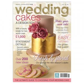 Revista Wedding Cakes Squire Kitchen Nº51 Verano 2014