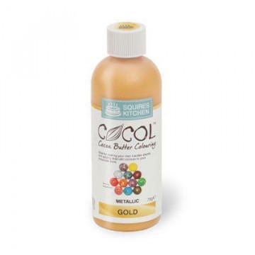 Colorante liposoluble Cocol Gold Oro Squire Kitchen