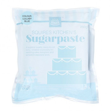 Fondant Squire Kitchen 250gr Azul Pastel Lullaby Blue