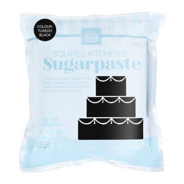 Fondant Squire Kitchen 250gr Negro Tuxedo Black