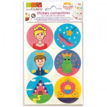 Papel de azúcar galletas: Princesas