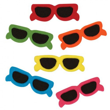Decoraciones comestibles Gafas de colores PME