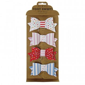 Lacitos decorativos pack 4 Colección Toot Sweet Meri Meri