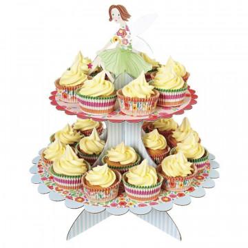 Stand de presentación cupcakes Hadas Mágicas