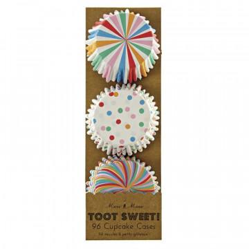 Capsulas mini cupcakes colección  Toot Sweet Meri Meri