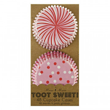 Capsulas cupcakes Rosa colección Toot Sweet Meri Meri