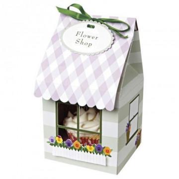 Cajas pack 4 cajas cupcakes individuales colección Flower Shop Meri Meri