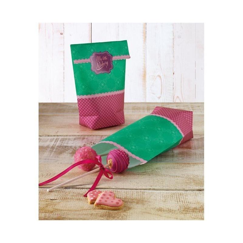 Pack 6 bolsas para galletas Daily Paper Birkmann