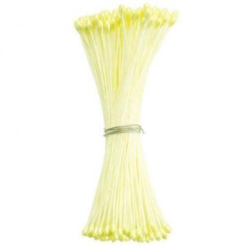 Estambre finos color amarillo nacar 72 piezas Culpitt
