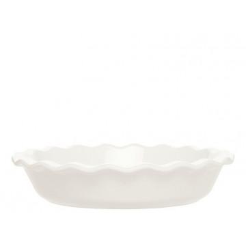 Molde redondo de cerámica Blanca Émily Henry