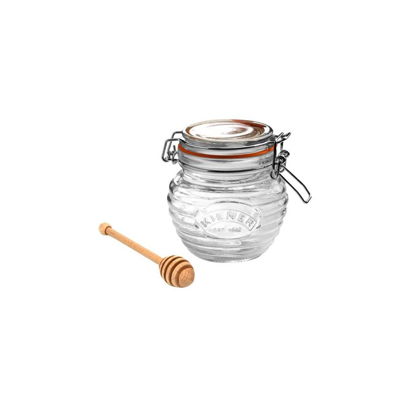 Tarro hermético con cuchara para miel Kilner