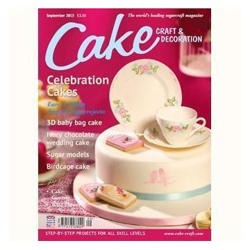 Revista Cake Craft & Decoration Edición Septiembre 2013