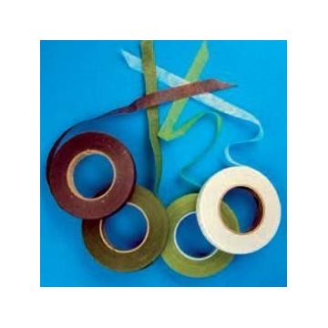 Cinta para forrar alambre de flores Verde Oscuro PME