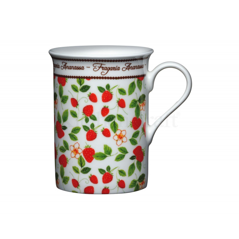 Tazón con asa Strawberry Kitchen Craft