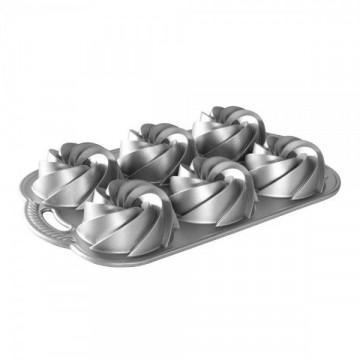 Molde mini Bundt Cake 6 cavidades Heritage Nordic Ware