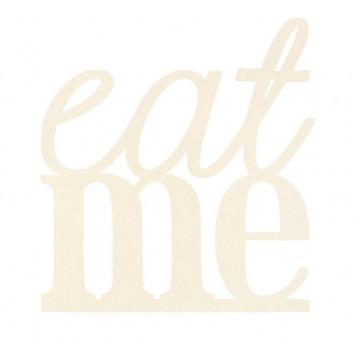 Topper para tarta Crema: Eat me