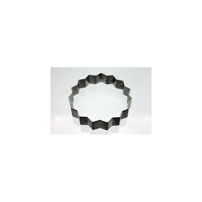 Cortante galleta forma geométrica Triacontagono