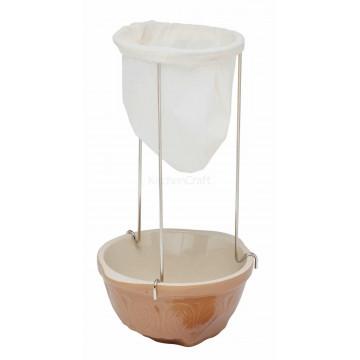Kit mermelada: bolsa colador + patas Kitchen Craft