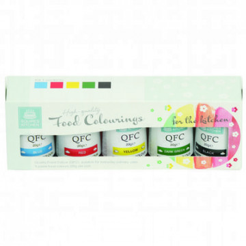 Pack 5 colorantes en gel Kit 1 SK
